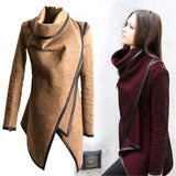 Autumn Irregular Overcoat for Women - J20Style - 1