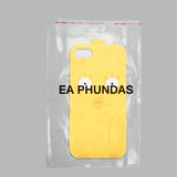 Cute Duck face yellow colored silicon soft  iPhone  Case