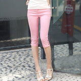 Candy Color Stretched Legging - J20Style - 6