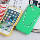 Cute Animal Ultra-thin Back Cover For iPhone