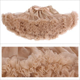 Teenage Fluffy Petti Skirt - J20Style - 2