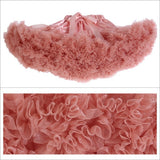 Teenage Fluffy Petti Skirt - J20Style - 7