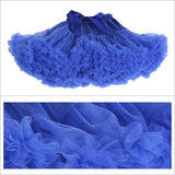 Teenage Fluffy Petti Skirt - J20Style - 11
