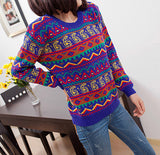 Digital Printed Sweater for Women