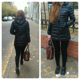 Ultra-light Down Long Female Jacket