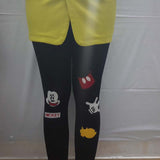 Rushed Cartoon Bamboo Fiber Leggings - J20Style - 4
