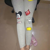 Rushed Cartoon Bamboo Fiber Leggings - J20Style - 6
