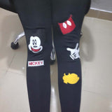Rushed Cartoon Bamboo Fiber Leggings - J20Style - 7