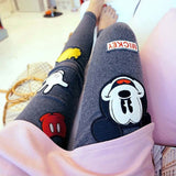 Rushed Cartoon Bamboo Fiber Leggings - J20Style - 1