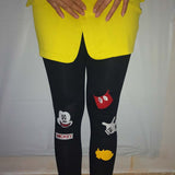 Rushed Cartoon Bamboo Fiber Leggings - J20Style - 2