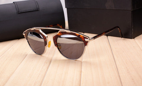 Vintage Metal Cat-Eye Luxury Sunglasses - J20Style - 5