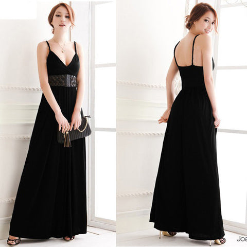Sleeveless V-Neck Loose Jumpsuits - J20Style - 7
