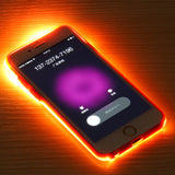 Glow Light Cover for apple iphone 6 and 6S