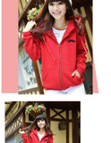 Korean Zipper Sweatshirt for Women - J20Style - 6