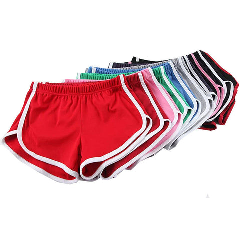 Candy Color Retro Yoga Shorts - J20Style - 1