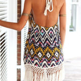 Chiffon Sheath Printed Beach Dress - J20Style - 3