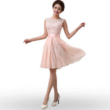 Elegant Sleeveless O-Neck Vestidos Dress - J20Style - 1