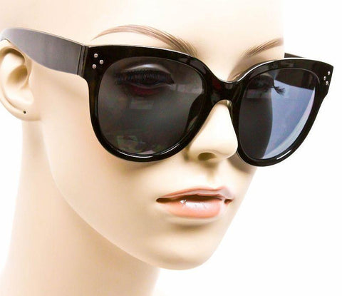 Audrey Black Tortoise Cat Eye Sunglasses - J20Style - 5