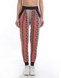 Ethnic Casual Printed Sweatpants