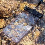 Clear Waterproof Pouch iPhone and other smart phones