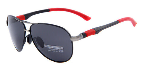 HD Polarized Colored Frame Sunglasses With Original Case