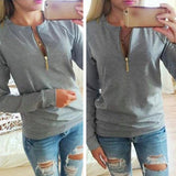 Casual V-Neck Long Sleeve Women Winter Pullover