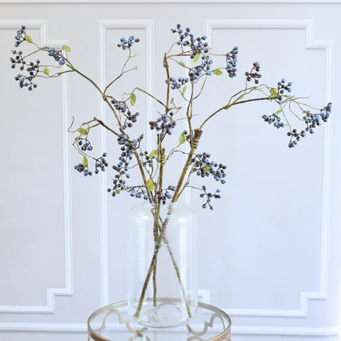 blueberry spray - bunch of 6 stems