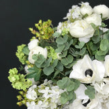 Artificial flowers luxury faux silk eternal elegenace small bouquet lifelike realistic faux flowers buy online from Amaranthine Blooms UK