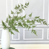 Artificial flowers luxury faux silk green asparagus fern realistic faux flowers buy online from Amaranthine Blooms UK