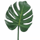 Artificial flowers luxury faux silk green monstera leaf lifelike realistic faux flowers buy online from Amaranthine Blooms UK