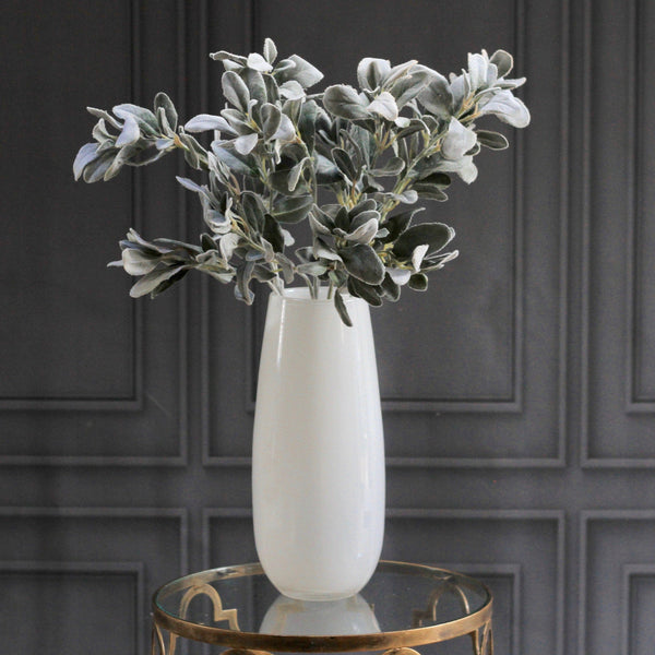 Artificial flowers luxury faux silk silver lambs leaf  lifelike realistic faux flowers buy online from Amaranthine Blooms UK