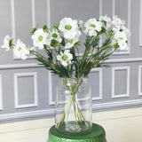 Artificial flowers luxury faux silk white chervil spray realistic faux flowers buy online from Amaranthine Blooms UK