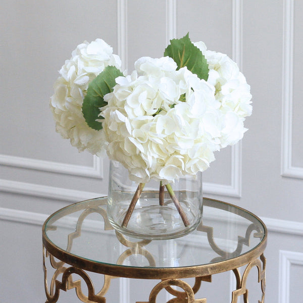 white short hydrangea bouquet