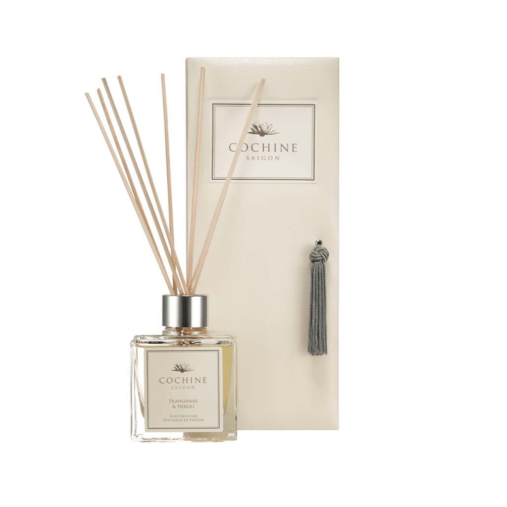 Artificial flowers luxury faux silk frangipani & neroli reed diffuser with box lifelike realistic faux flowers buy online from Amaranthine Blooms UK