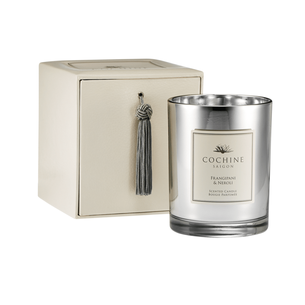 Artificial flowers luxury faux silk frangipani & neroli scented candle with box lifelike realistic faux flowers buy online from Amaranthine Blooms UK