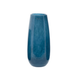 Artificial flowers luxury faux silk mouthblown glass vase blue medium elegant lifelike realistic faux flowers buy online from Amaranthine Blooms UK