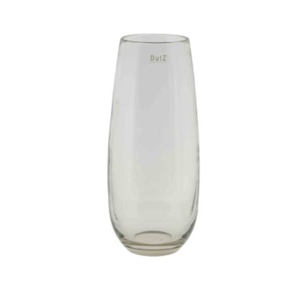 Artificial flowers luxury faux silk mouthblown glass vase clear medium elegant lifelike realistic faux flowers buy online from Amaranthine Blooms UK