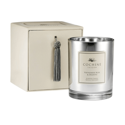 vietnamese rose & delentii scented candle
