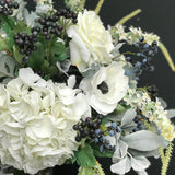 Artificial flowers luxury faux silk winter wonderland deluxe bouquet lifelike realistic faux flowers buy online from Amaranthine Blooms UK