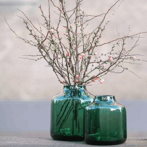 emerald green perfect vase (various sizes)