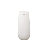 Tall white textured glass vase luxury realistic lifelike artificial silk flower and vase from Amaranthine Blooms in UK
