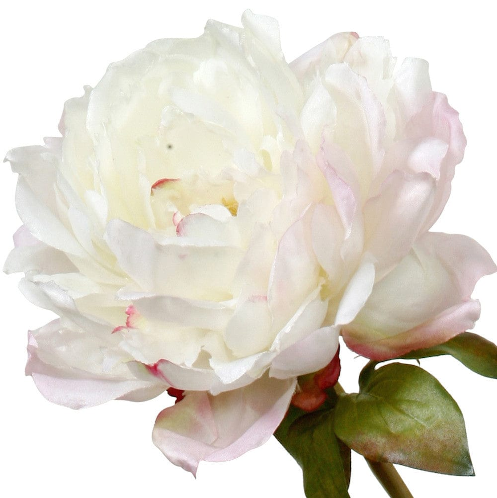 Artificial flowers luxury faux silk white classic peony lifelike realistic faux flowers buy online from Amaranthine Blooms UK