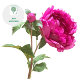 fuchsia classic peony luxury artificial fake silk flowers  lifelike realistic faux flowers buy online from Amaranthine Blooms UK