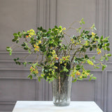 artificial flowers luxury faux silk green berry spray lifelike realistic faux flowers buy online from Amaranthine Blooms Hong Kong UK