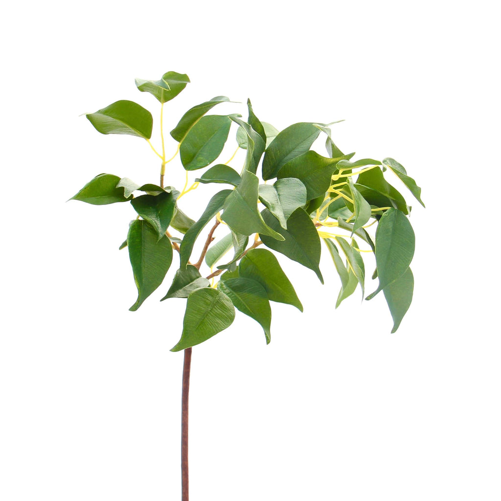 artificial flowers luxury faux green ficus leaf lifelike realistic faux flowers buy online from Amaranthine Blooms Hong Kong UK