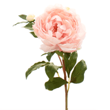 Artificial flowers luxury faux silk pale pink classic peony bouquet lifelike realistic faux flowers buy online from Amaranthine Blooms UK