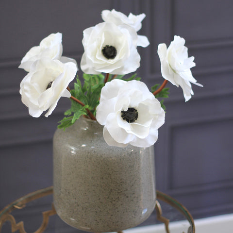 soft grey perfect vase