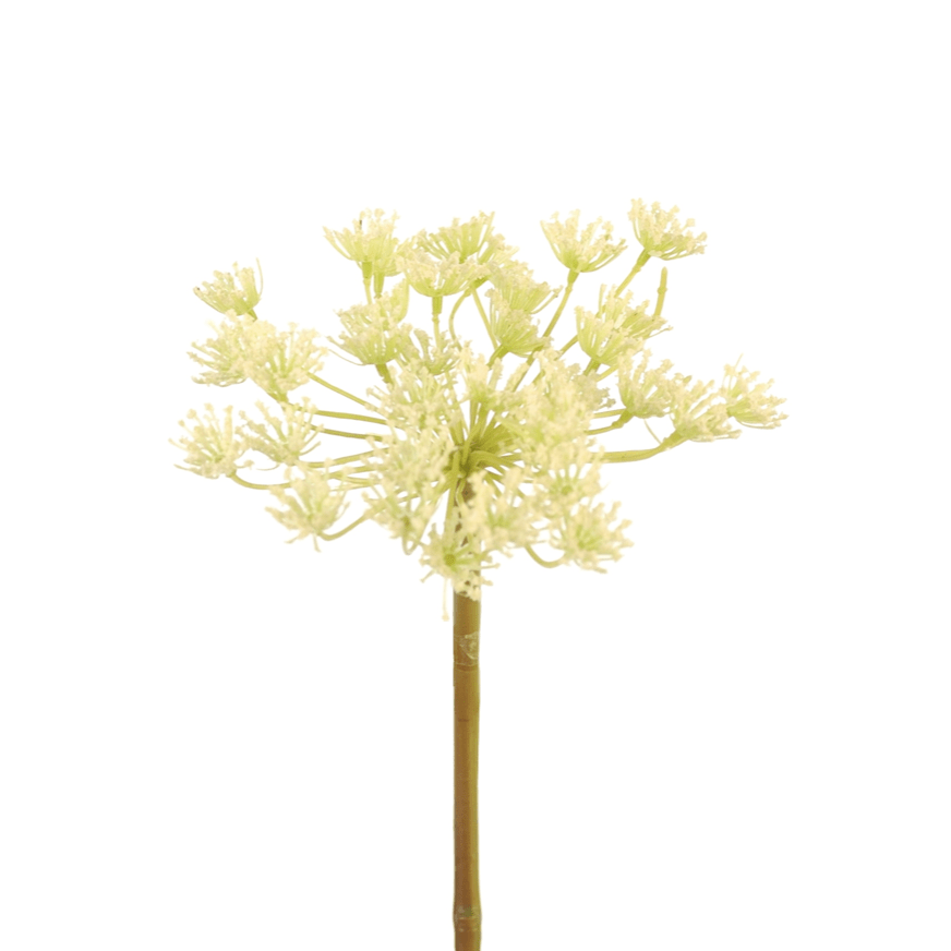 Artificial flowers luxury faux silk white queen anne's lace lifelike realistic faux flowers buy online from Amaranthine Blooms UK