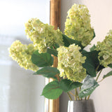 artificial flowers luxury green paniculata hydrangea lifelike realistic faux flowers buy online from Amaranthine Blooms Hong Kong UK