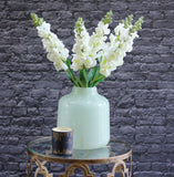 artificial flowers luxury white snapdragon lifelike realistic faux flowers buy online from Amaranthine Blooms Hong Kong UK